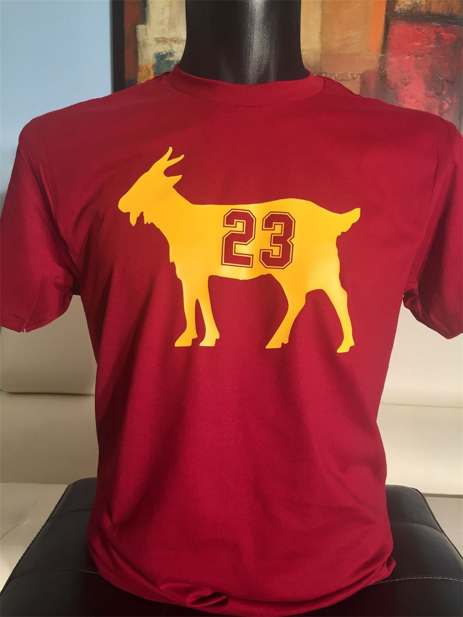 check out be210 9f4ca LeBron James T-shirt, GOAT, Basketball Fan, King James ...