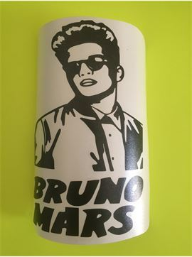 Bruno Mars Car Decal - Bruno Mars