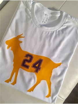 Kobe Bryant T- Shirt, GOAT Basketball Shirt, Basketball Fan, L.A. Lakers - Greatest of All Time T Shirt