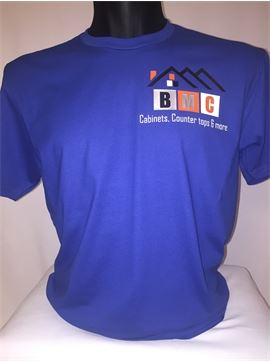 Construction Company Uniform T-Shirt - Blair Millennium Construction