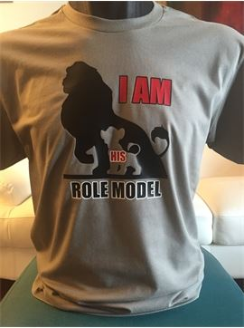 Family Role Model T-Shirt - I Am His Role Model