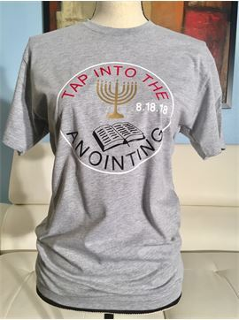 Christian, Religious, Faith Inspired T-shirt - 7th Day Church of The Living God - Tap Into The Anointing