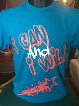Men's Motivational T-Shirt - I Can And I Will