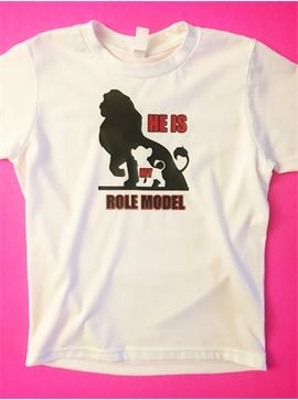 Family Role Model T-Shirt - He Is My Role Model